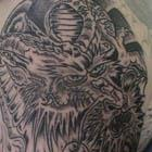 Asian Dragon Arm Tattoo