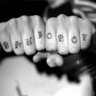 banjo boy knuckle tattoo th Tattoo Spots