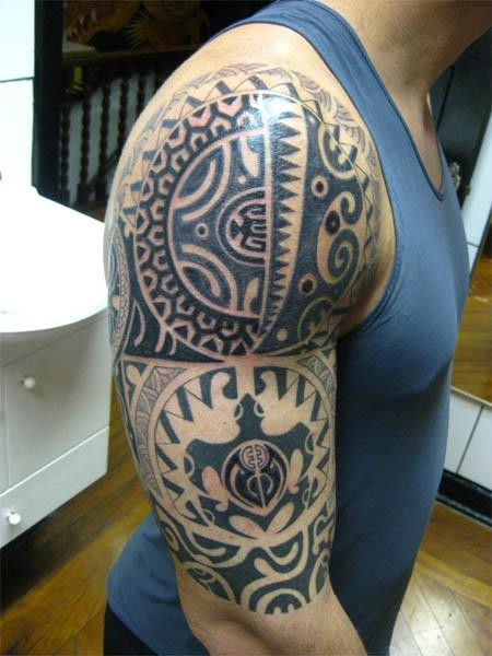 polynesian tribal tattoo Polynesian Tribal Tattoo