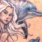 Mermaid & Dophins Tattoo (NSFW)