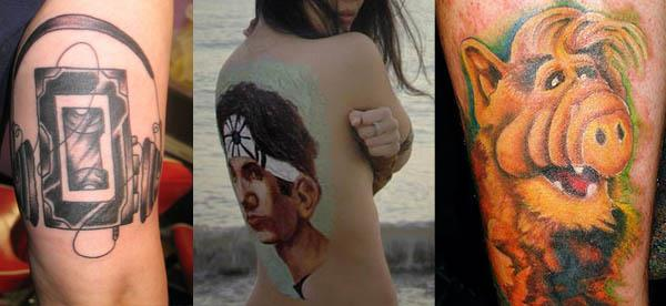tottally rad 80s tattoos 80s Tattoos That Are Totally Rad