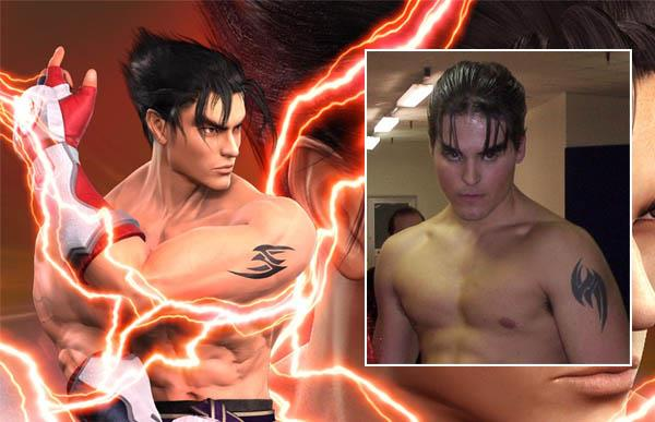 Tekken Jin Tattoo iat Video Game Characters with Cool Tattoos