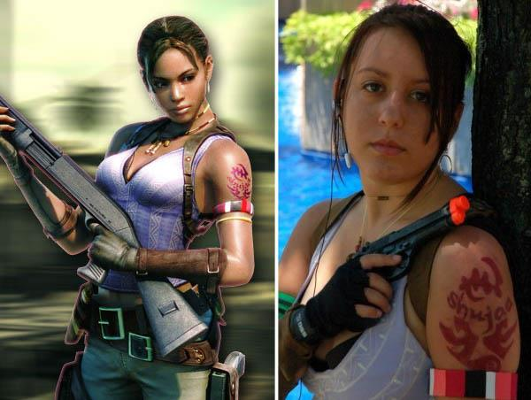 Video Game Characters With Cool Tattoos Ink Art Tattoos