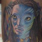 Neytiri Avatar Tattoo