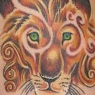 Narnia Inspired Lion Tattoo