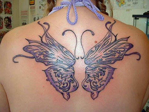 Buterfly Tatto on Back Butterfly Wings Tattoo Back Butterfly Wings Tattoo