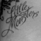 Lady Gaga Little Monsters Tattoo