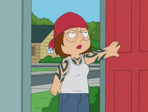 griffin tattoos. meg griffin tribal tattoos Meg