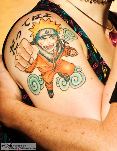 naruto anime tattoo Naruto Tattoo