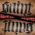 Sinner & Saint Ambigram Tattoo