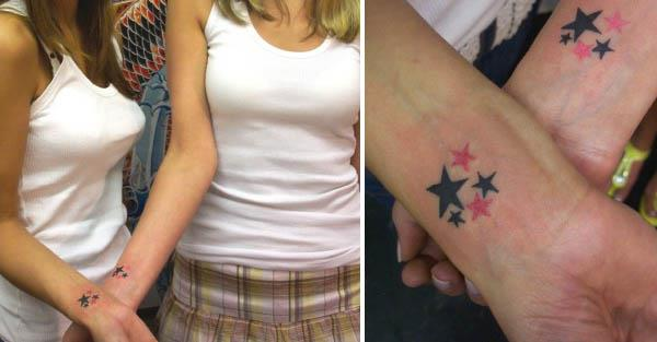 Sisters Friendship Tattoos · symbol of friendship