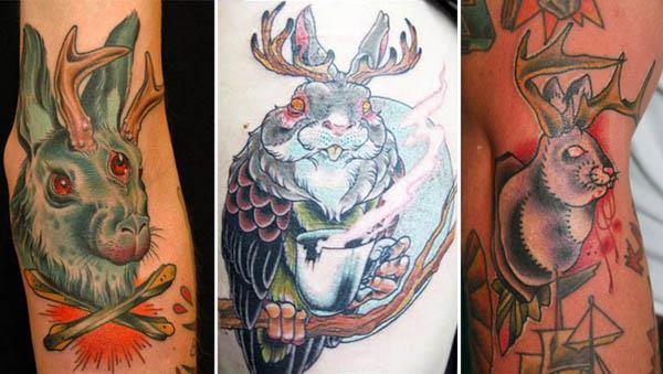 Jackalope Tattoos Each One Weirder Than the Last Jackalope Tattoos: Each One Weirder Than the Last