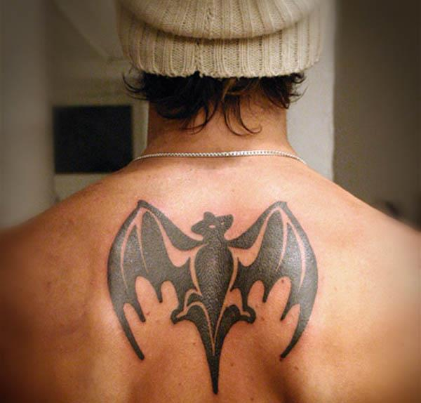 bacadi bat tattoo A Sobering Look At Booze Tattoos