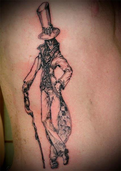 creepy original mad hatter tattoo Ink in Wonderland: 25 Mad Alice  in Wonderland Tattoos