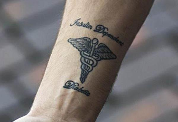 diabetes life saving tattoo Life Saving Tattoo