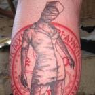 Silent Hill Nurse Halo of the Sun Tattoo