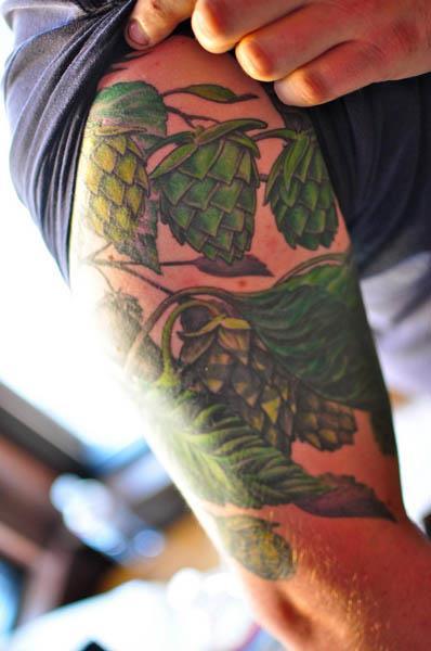 sweet hops tattoo A Sobering Look At Booze Tattoos