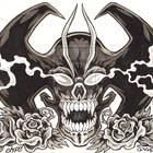 Devilman Skull and Roses Flash by MonsterInk