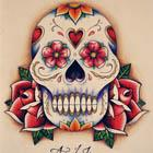 Sugar Skull Flash by April Johnson