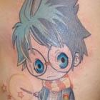Chibi Harry Potter Tattoo