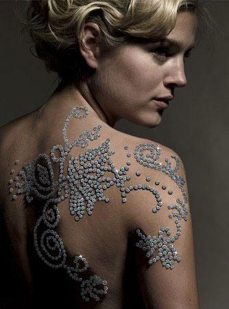 Tatto on Der Westhuizen Most Expensive Tattoo The Most Expensive Tattoo Ever