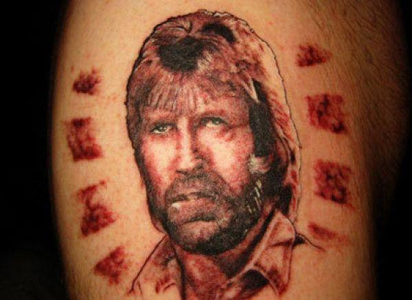 chuck norris tattoo The Internet Is Fickle, Tattoos Are Forever