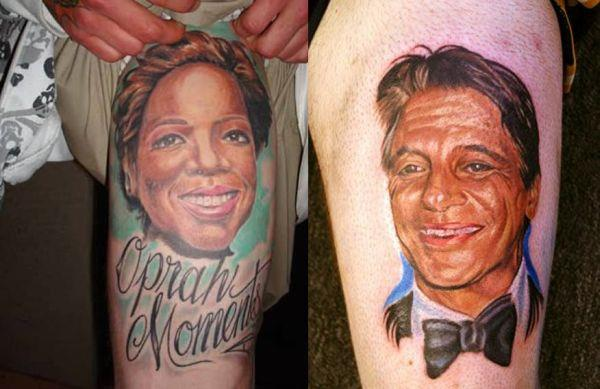 oprah tony danza tattoos Celebrity Tattoos Gone Horribly Wrong