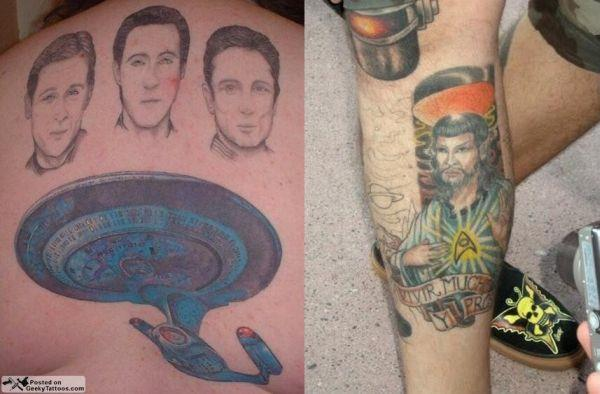 star trek tattoos Tattoos That Boldly Go Where No One Has Gone Before