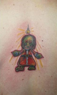 Christmas Zombie 17 Christmas Tattoos That You Have To See
