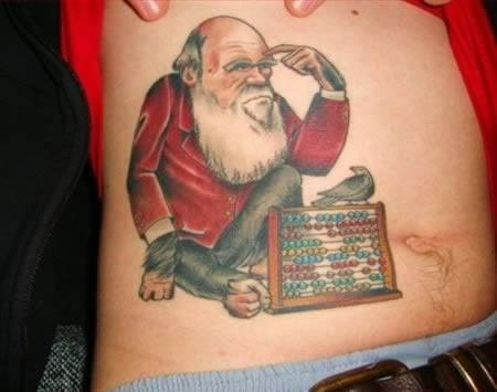 Darwin inspired Christmas Tattoo 17 Christmas Tattoos That You Have To See