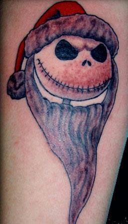 Jack Skellington Christmas Tattoo 17 Christmas Tattoos That You Have To See